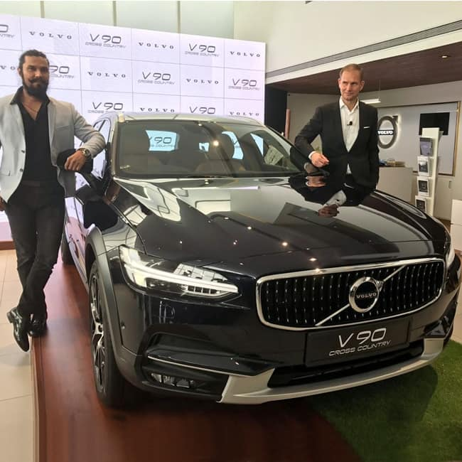 Volvo V90 Cross Country engine
