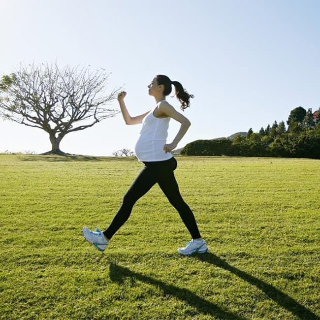 Walking is good for pregnant ladies