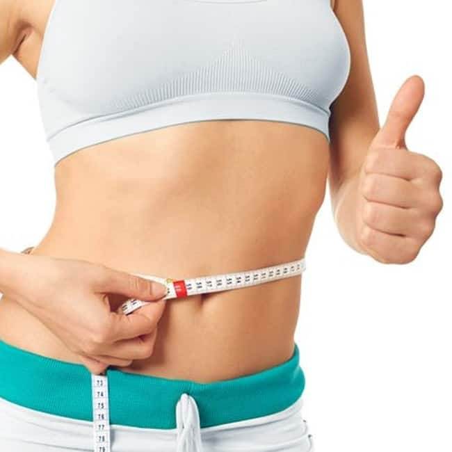 hot water helps weight loss