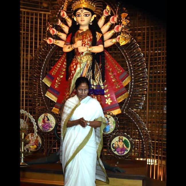 WB CM Mamata Banerjee says, no Durga idol immersion without police permission