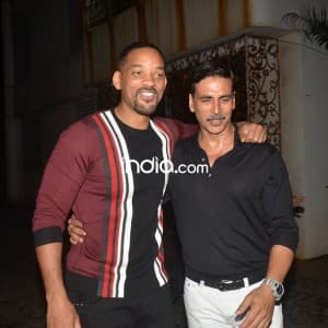 Will Smith parties with Akshay Kumar and other Bollywood celebs during 'Rustom' success bash in Mumbai, see pics