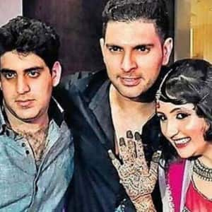 Check out wedding pictures of Bigg Boss 10 contestant Akansha Sharma with Yuvraj Singh's brother Zorawar Singh!