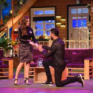Yuvraj Singh and Hazel Keech revealed details of their wedding on The Kapil Sharma Show!