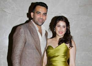 Zaheer Khan officially gets engaged to Sagarika Ghatge, see pictures