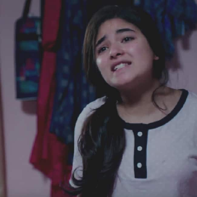 Zaira Wasim playing daughter in Secret Superstar