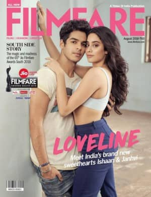 Bollywood News: Janhvi Kapoor, Ishaan Khatter Look Hot on new magazine cover