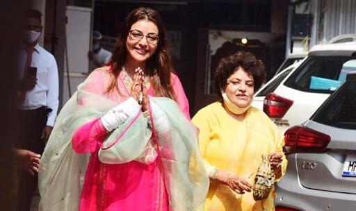 Kajal Aggarwal Greets Paparazzi Ahead of Her Wedding With Gautam Kitchlu   See Pics