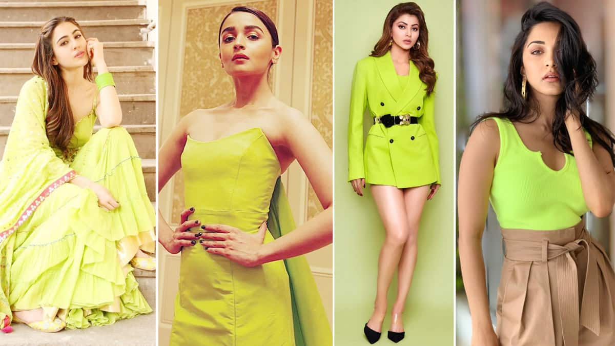 11 Bollywood Actress Who Looked Glorious in Neon