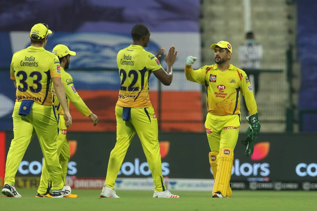 PICS | CSK Beat MI by 5 Wickets in IPL Opener