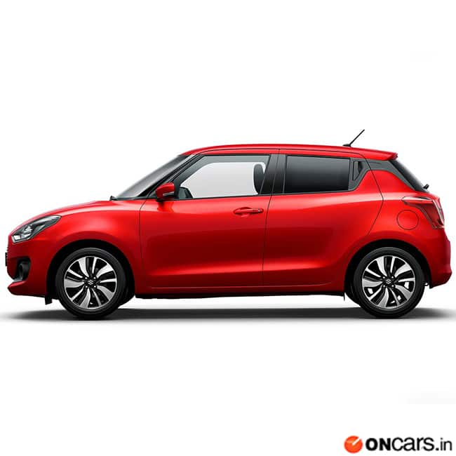 2017 Maruti Swift  Side profile