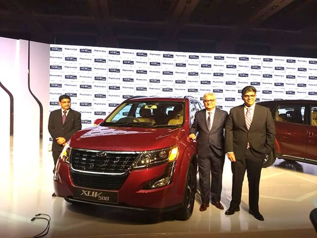 2018 Mahindra XUV 500 facelift engine capacity