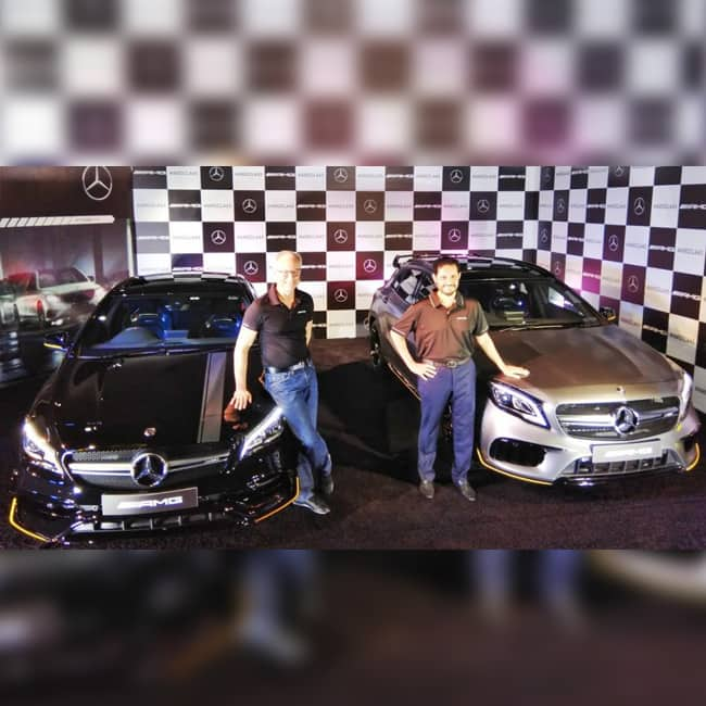 2018 Mercedes Amg Gla 45 4matic Color Cirrus White: 2018 Mercedes-AMG CLA 45 & GLA 45 Facelift Launched In