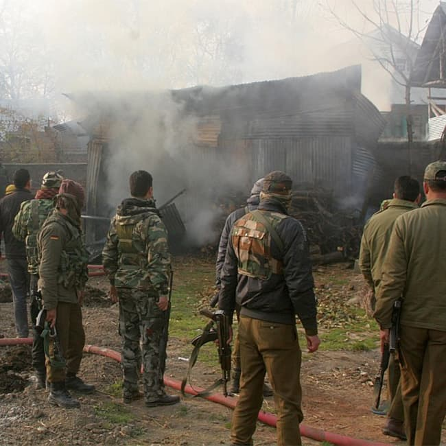 3 terrorists gunned down by in Jammu and Kashmir   s Uri district
