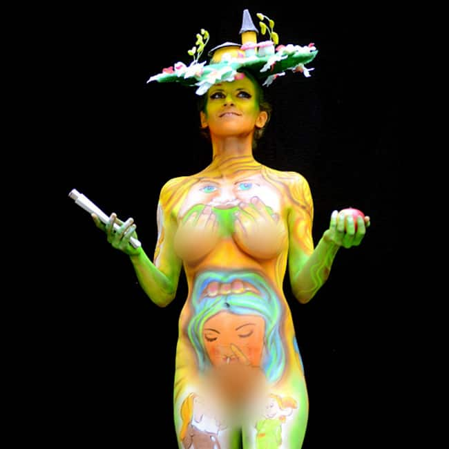 A Click Of Body Painting At World Body Painting Festival 2016 In Austria World Body Painting Festival 2016 Travel To Austria To Enjoy This Unique Aestheticism Festivals Photo Gallery India Com Photogallery