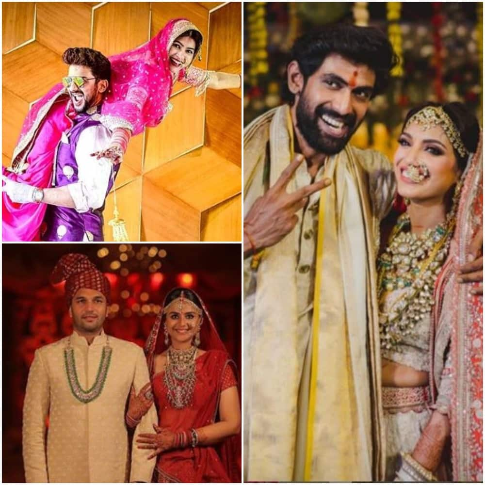 A list of star couples who married in lockdown