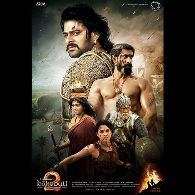 A new poster of Baahubali  The Conclusion