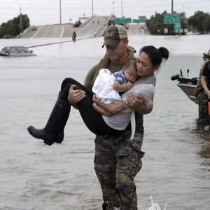 7 pictures showing devastation by Hurricane Harvey in Texas and Houston