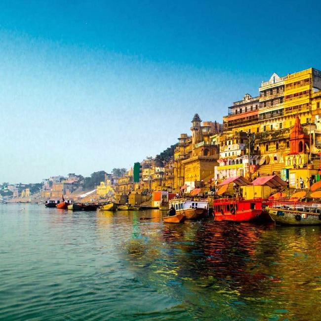 A picture of Varanasi in Uttar Pradesh
