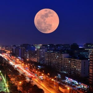 Enticing pictures of Super Blood Blue Moon in various countries
