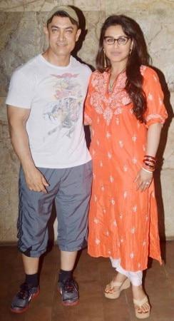 Aamir Khan watches Mardaani with wife Kiran Rao: Pictures