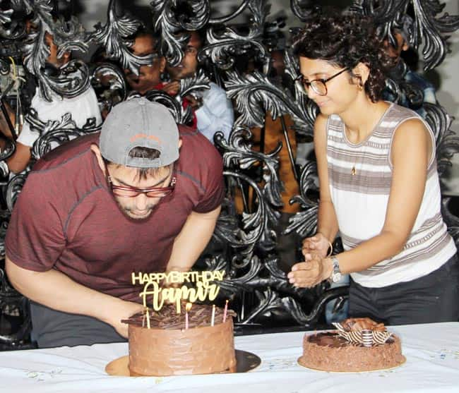 Aamir Khan celebrated his 54th birthday with the media
