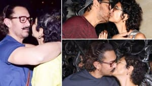 Aamir Khan- Kiran Rao Announces Divorce: From Mushy Moments To Sharing a Kiss, A Look At Their Happy Moments