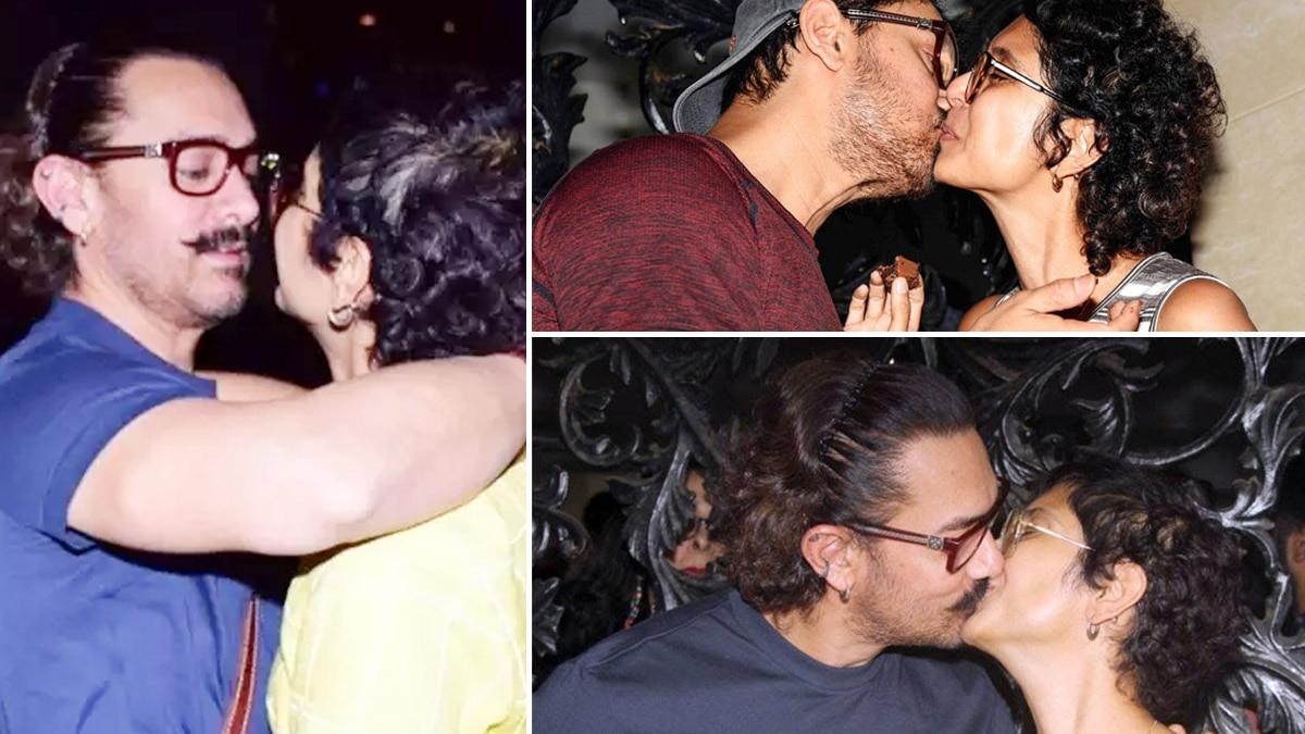 Aamir Khan  Kiran Rao Announces Divorce  Times When The Couple Shared Romantic Moments