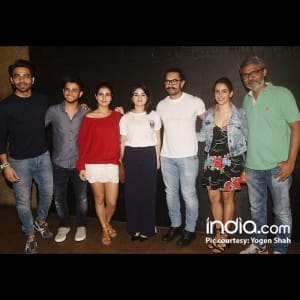 Secret Super star special screening: Sachin Tendulkar, Nawazuddin Siddiqui and celebs who couldn't give it a miss!