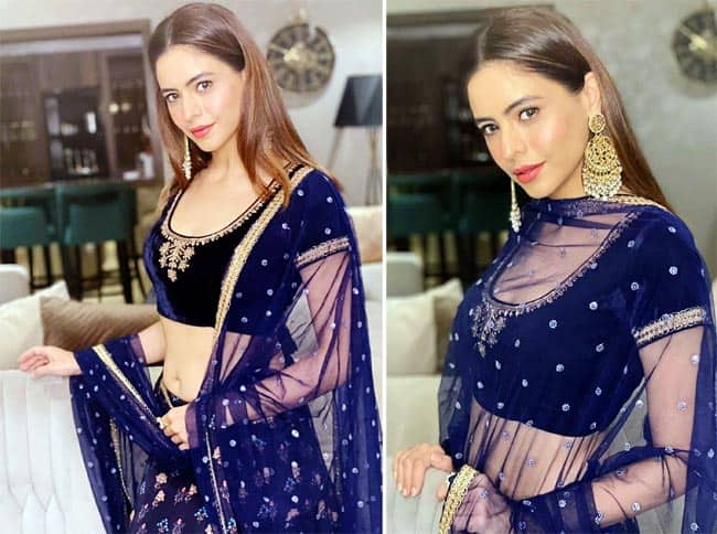 Aamna Sharif looks sensational in a lehenga