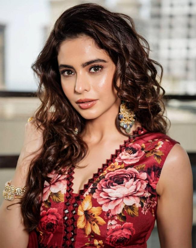 Aamna Sharif wears a printed cherry lehenga in new photoshoot