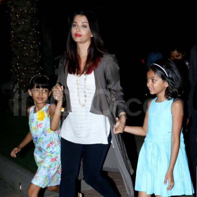 Aaradhya joined in