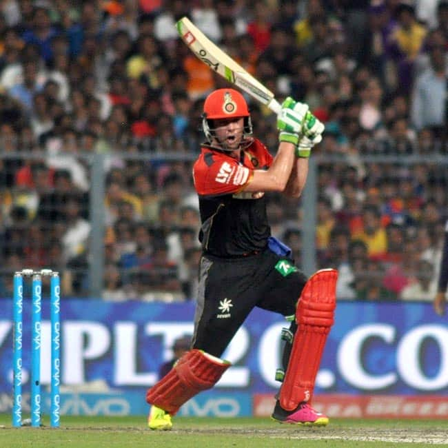 AB de Villiers clicked while playing during IPL match