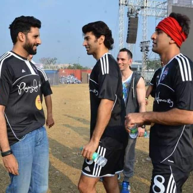 Abhishek Bachchan  Ranbir Kapoor and Aditya Roy Kapur