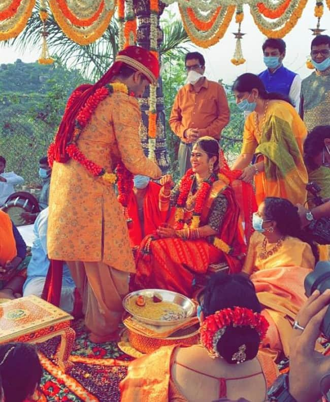 Actor Nikhil Siddhartha gets married