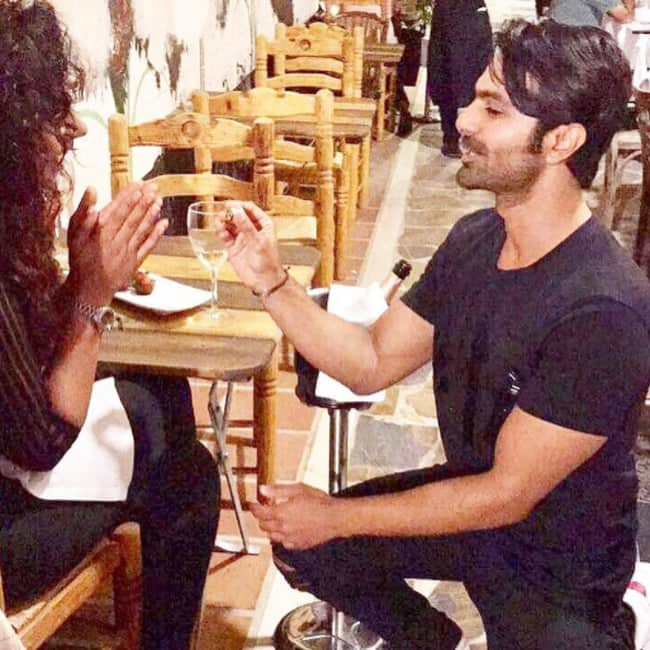 Actors Ashmit Patel  Maheck Chahal get engaged in Spain