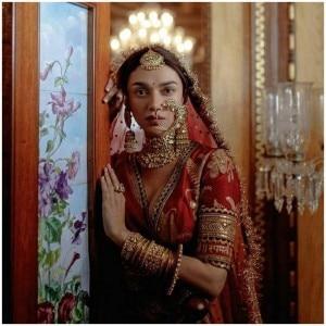 Aditi Rao Hydari Turns Bride For Sabyasachi in a Super-Gorgeous Red Bridal Lehenga And Traditional Jewellery