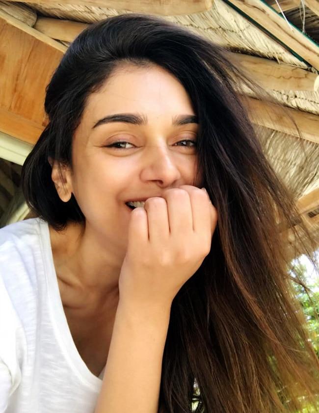 Aditi Rao Never Forgets to Apply Sunscreen