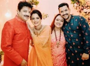 Inside Photos of Aditya Narayan - Shweta Agarwal's Pre-Wedding Function 'Tilak Ceremony'