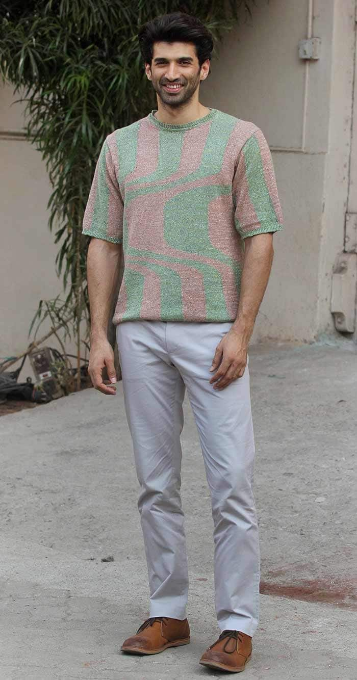 Aditya Roy Kapur at Mehboob studio
