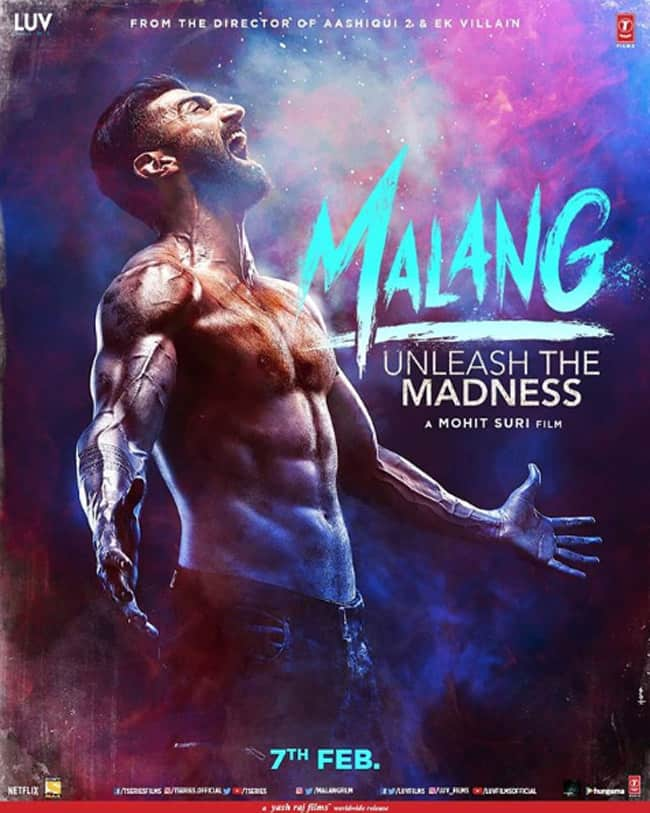 Aditya Roy Kapur Just Stole The Show With His Six Pack Abs In Malang Poster Malang Character Posters Aditya Roy Kapur Disha Patani Anil Kapoor Kunal Khemu S First Look Out Celebs
