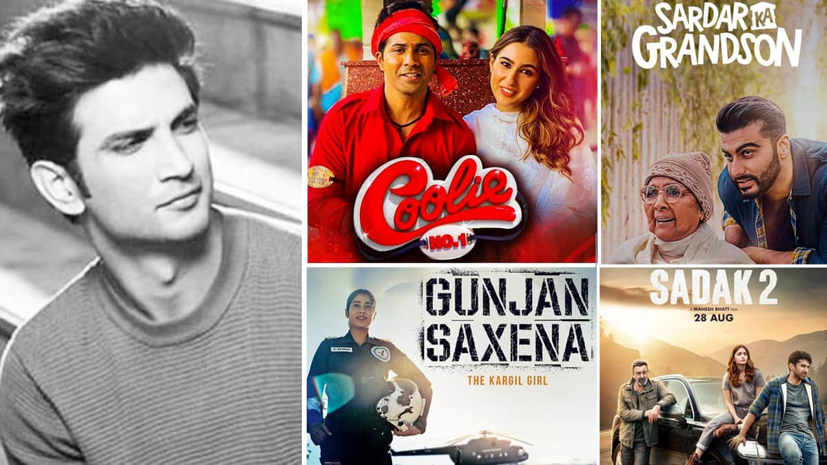 After Sushant Singh Rajput   s Death  These 8 Films Were Boycotted By Viewers