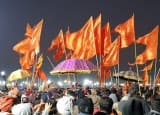 Large Gathering at Kumbh Mela, Prayagraj