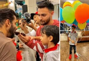 Salman Khan's Nephew Ahil Tunrs 4, Check Out Photos From Birthday Celebrations in Quarantine