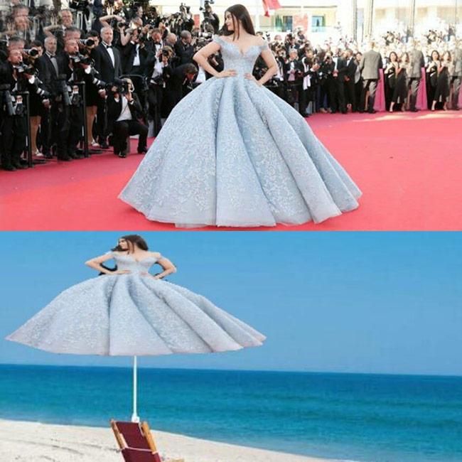 Aishwarya Rai Bachchan   s red carpet look for Cannes 2017