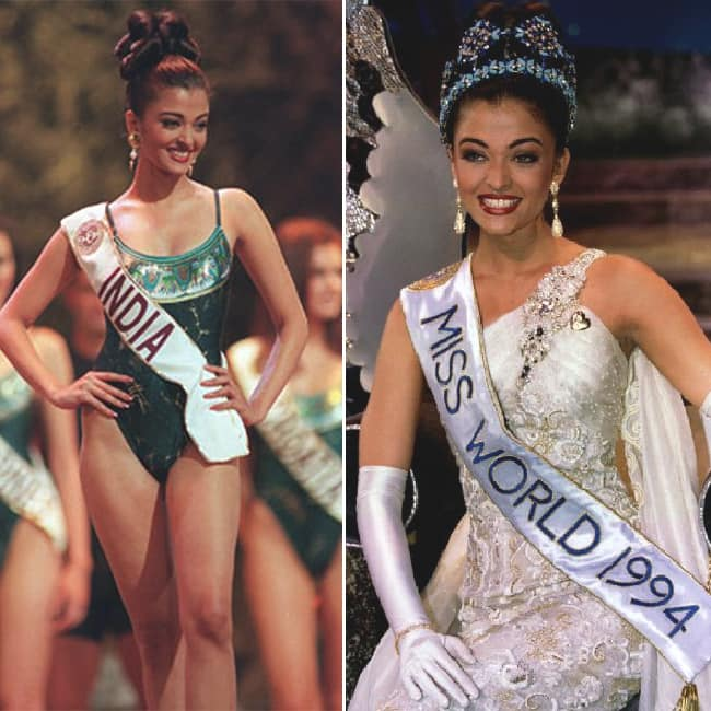 Aishwarya Rai crowned Miss World in 1994