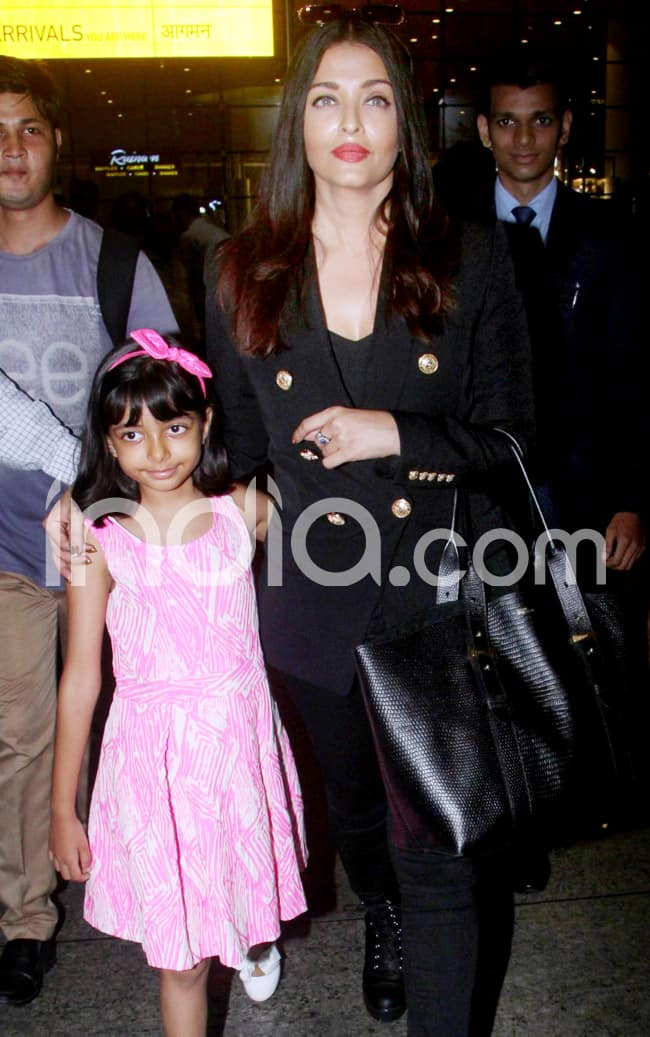 Aishwarya returns