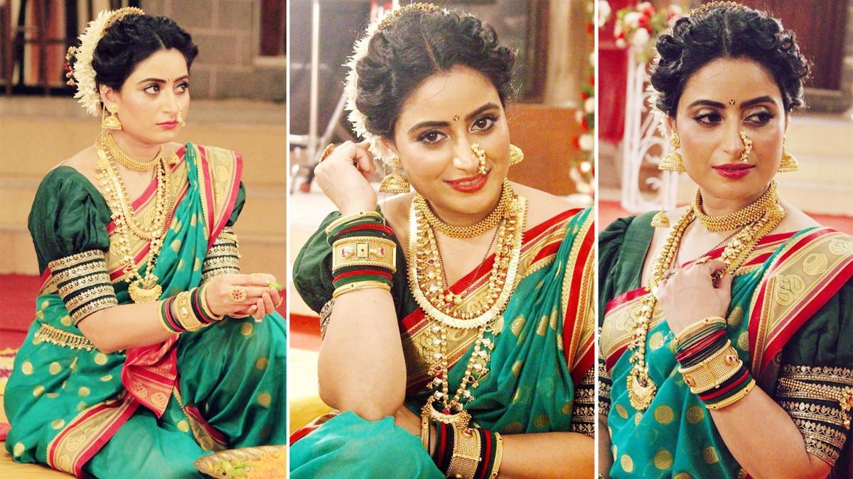 Aishwarya Sharma Looks Prettiest In Marathi Avatar