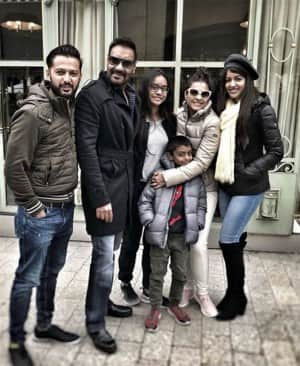 Ajay Devgn celebrated his 49th birthday with family in Paris, see pics