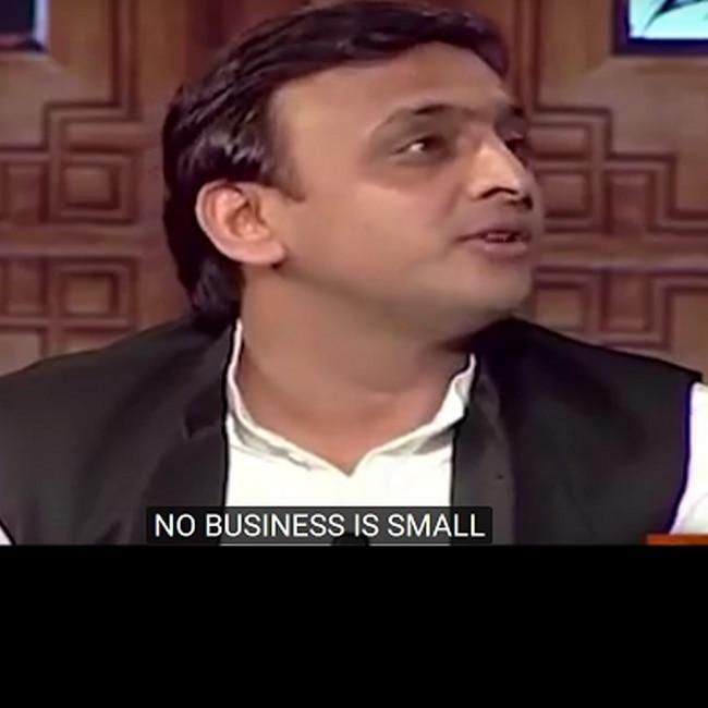 Akhilesh Yadav starring in edited Raees trailer