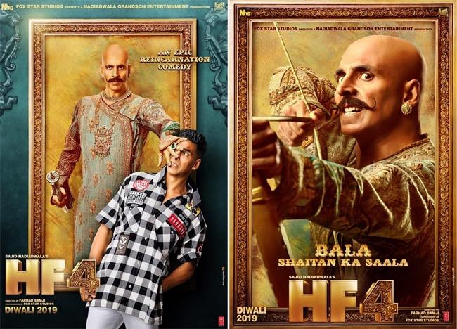 Akshay as Rajkumar Bala And Harry as London Return